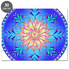 Sun flower-4. Puzzle