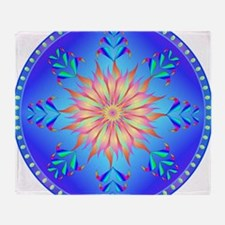 Sun flower-4. Throw Blanket