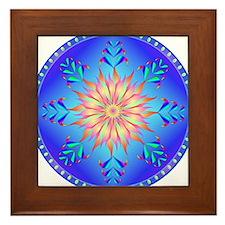 Sun flower-4. Framed Tile