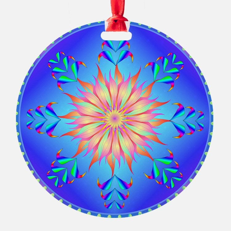 Sun flower-4. Ornament