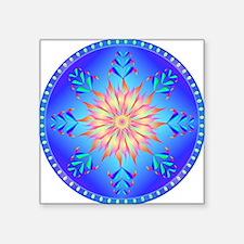"Sun flower-4. Square Sticker 3"" x 3"""