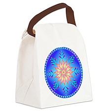 Sun flower-4. Canvas Lunch Bag
