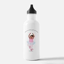 2-Pirouette black Water Bottle