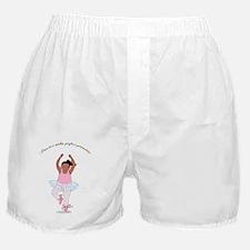 2-Pirouette black Boxer Shorts
