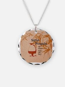 sumopenquin4 Necklace