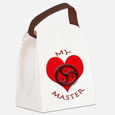 BDSM love my valentine master Canvas Lunch Bag