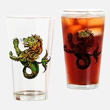 Singa-LautTile Drinking Glass