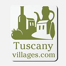 TuscanyVillages.com Logo Mousepad