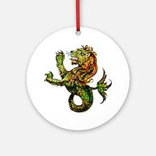 Singa-Laut Round Ornament