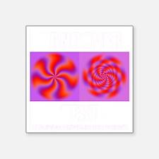 """2-hangover Square Sticker 3"""" x 3"""""""