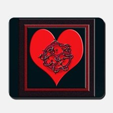 for a lifestyle not just valentines day Mousepad