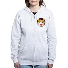 Guinea Pig Christmas Zip Hoodie