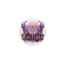 new moon chantilly heart Mini Button