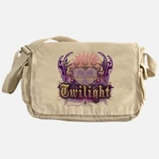 new moon chantilly heart Messenger Bag