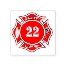 """22 Square Sticker 3"""" x 3"""""""