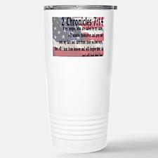 2chronicles 714 Travel Mug