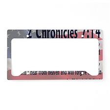 2chronicles 714 License Plate Holder