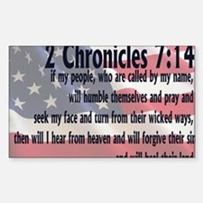 2chronicles 714 Decal