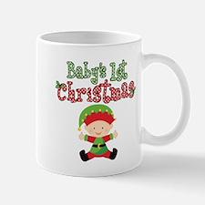 1st Christmas Baby Elf Mug