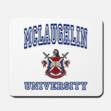 MCLAUGHLIN University Mousepad