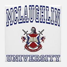 MCLAUGHLIN University Tile Coaster