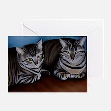 jcats Greeting Card