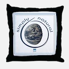 simply natural frame trans Throw Pillow
