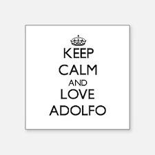 Keep Calm and Love Adolfo Sticker