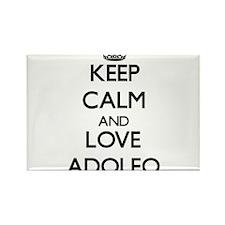 Keep Calm and Love Adolfo Magnets