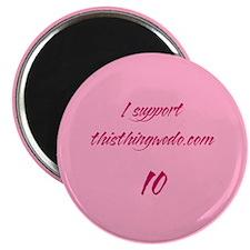 ttwd-med-support-button Magnet