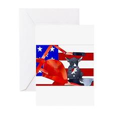 Patriotic Puppy Greeting Cards