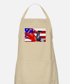 Patriotic Puppy Apron