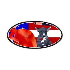 Patriotic Puppy Patches