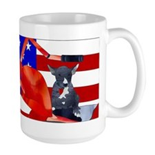 Patriotic Puppy Mugs