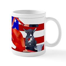 Patriotic Puppy Mugs