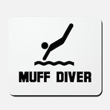 Muff Diver 1 Mousepad