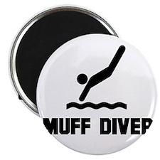 Muff Diver 1 Magnet