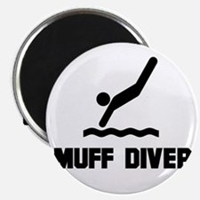 Muff Diver 1 Magnet