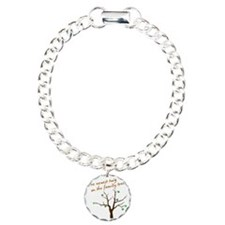 family_tree3 Charm Bracelet, One Charm