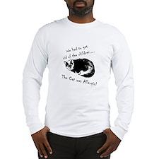 Allergic Cat Long Sleeve T-Shirt