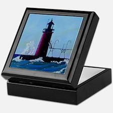 South Haven Lighthouse Keepsake Box
