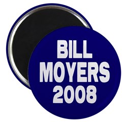 Bill Moyers 2008 Blue Magnet