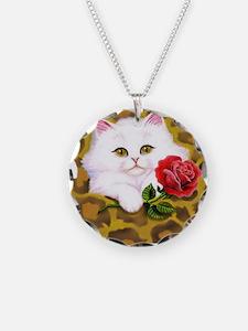 Phreak leopard kitten Necklace