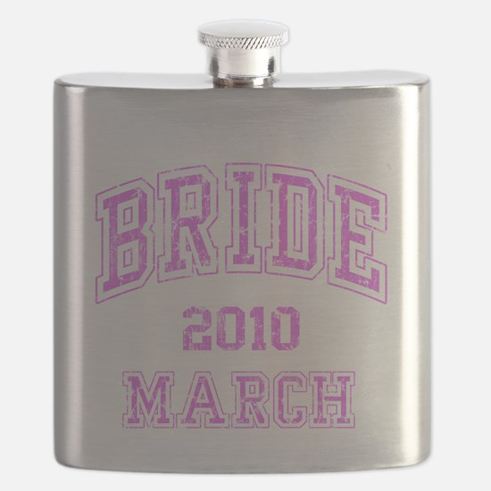 BRIDE2010MARCH Flask