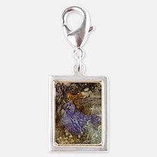 Fairy - Arthur Rackham Silver Portrait Charm