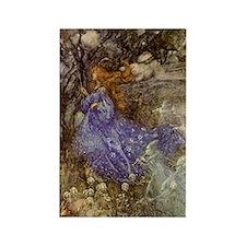 Fairy - Arthur Rackham Rectangle Magnet