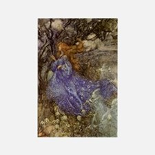Fairy - Arthur Rackham Rectangle Magnet