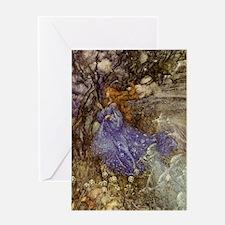 Fairy - Arthur Rackham Greeting Card