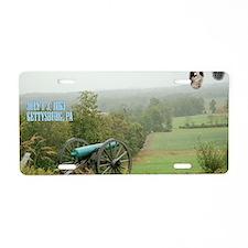 3-Gettysburg_Large Aluminum License Plate