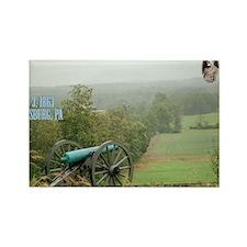 3-Gettysburg_Large Rectangle Magnet